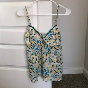 American Eagle patterned tank top. Size 8.